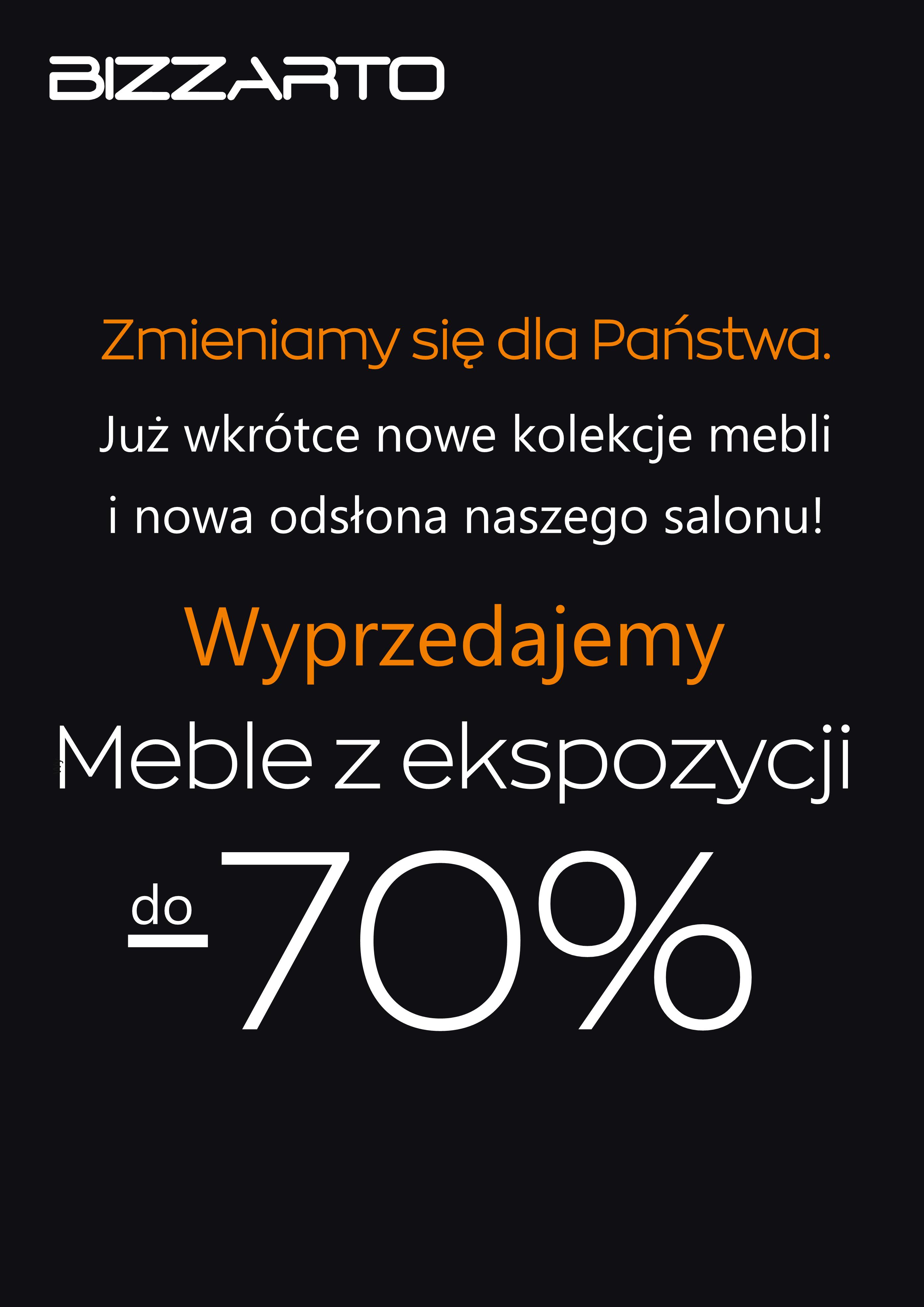 Wyprzedaż Ekspozycji W Salonie Bizzarto Galeria Polskie